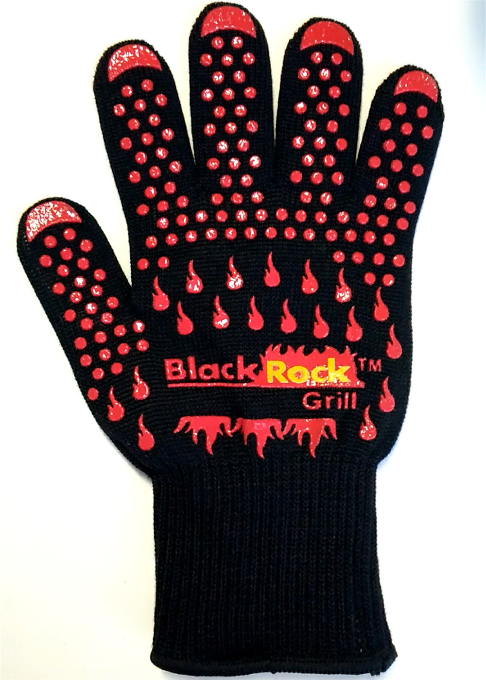 (One Pair)High quality Heat resistant glove BBQ Oven glove Protecting hand from fire use for grill cooking kitchen mr grill heat resistant oven