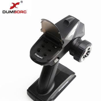 DumboRC X4 2,4G 4CH Transmisor Con Receptor X6F Para JJRC Q65 MN-90 Rc Vehículo Barco Tanque Modelo Piezas