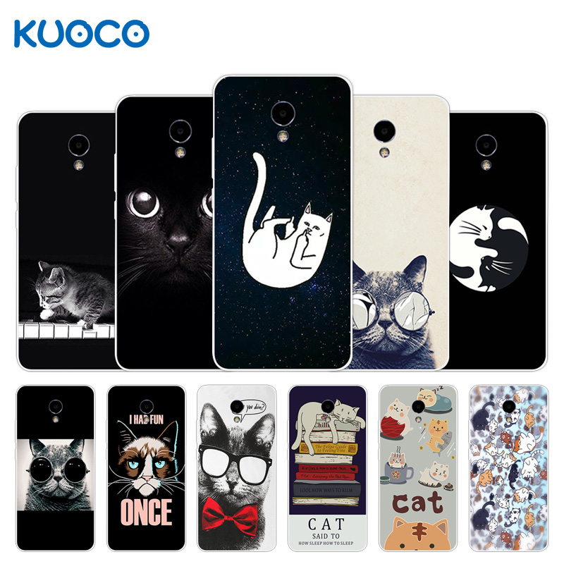 Case For Meizu M5 Note Blue Charm Note 5 Note5 Silicone Dif Cat Design Cover For Meizu M5 Note Blue Charm Note 5 Note5 Shell