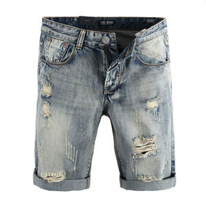 b0e76f00abdf2 YuWaiJiaRen Denim Shorts Summer Short Jeans for Men
