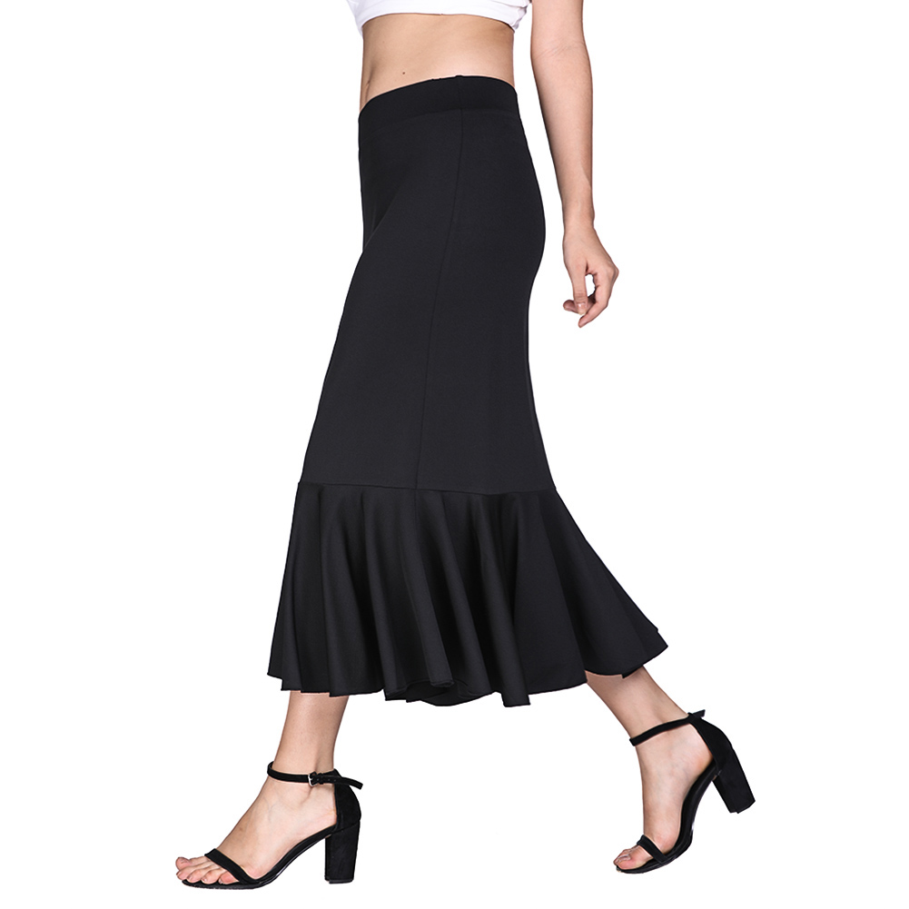 Low Waist Pencil Skirts Plus Size Tight Bodycon Fashion Women Mermaid skirt Red Black Women's Skirt Fashion Femme S XL