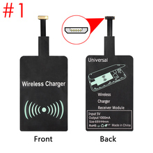 QI Wireless Charging Charger  Universal Adapter Receiver Module Pad for Micro-USB Universal Mobile RL88 ND998 цена