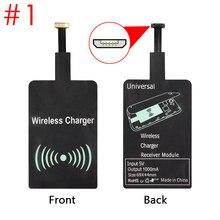 Qi carregador de carregamento sem fio universal adaptador receptor módulo almofada para micro-usb universal móvel rl88 nd998