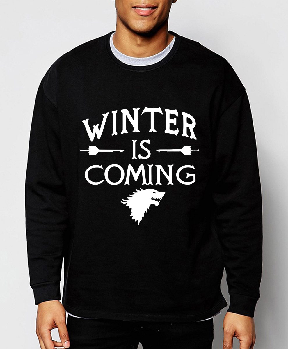 Game of Thrones  2019 hot sale spring winter fashion men sweatshirt hoodies hip hop streetwear brand-clothing