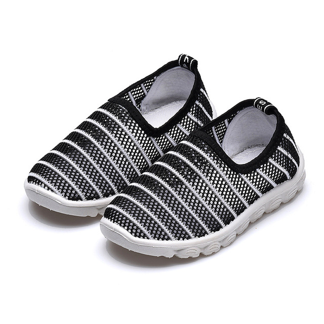 2019 New Summer Fashion Kids Shoes Cut-outs Air Mesh Breathable Shoes For Boys Girls Children Sneakers Baby Boy Girl Sandals 2