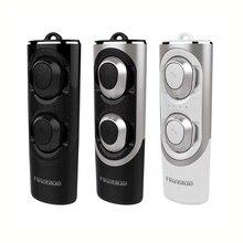 Fineblue RWS-X8 twins Bluetooth 5.0 Kulaklık Mini Kablosuz Küçük Kulaklık Stereo telefon için mikrofon ile spor yeni kulaklık