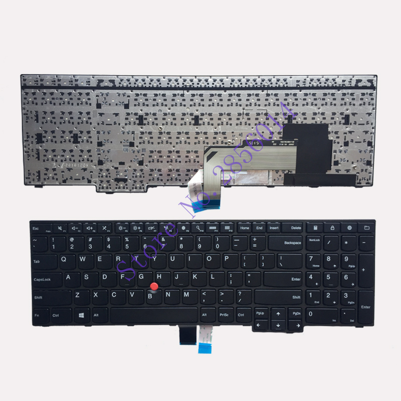 New for IBM Lenovo Thinkpad E550 E550C E555 E560 E565 Keyboard Teclado US English 00HN000 00HN074 00HN037 new original for lenovo thinkpad e550 e555 e550c panel 15 6 fhd slim ag edp lcd screen 04x4813 04x4812 n156hge eab