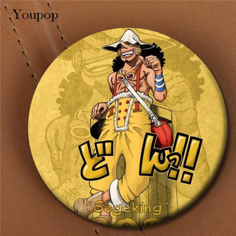 Youpop одна штука Usopp брошь в стиле аниме булавки значок аксессуары для одежды шляпа украшение для рюкзака Мужчины Женщины мальчик девочка XZ0429