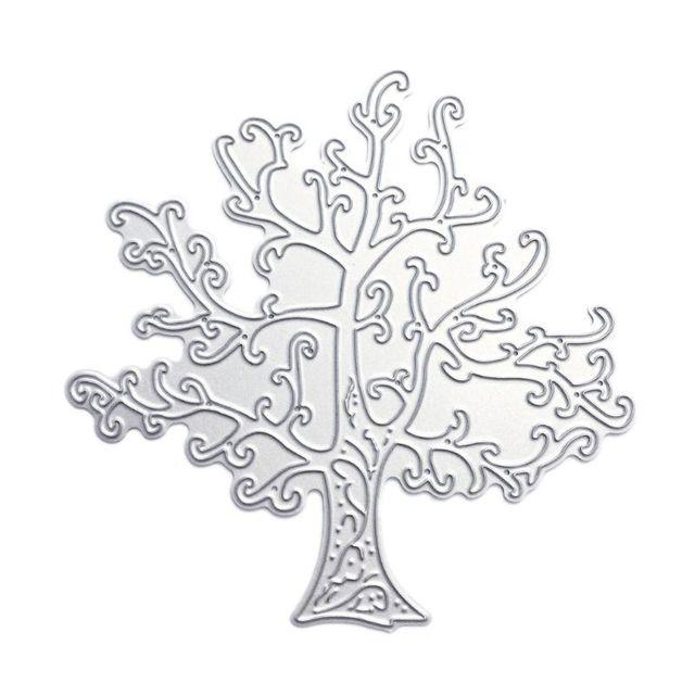 Cake Mold YOUSIKE Cutting Dies Handicrafts Tree of Life Metal Cutting Dies Stencil Scrapbooking DIY Album Stamp Paper Card Embossing Decor Craft