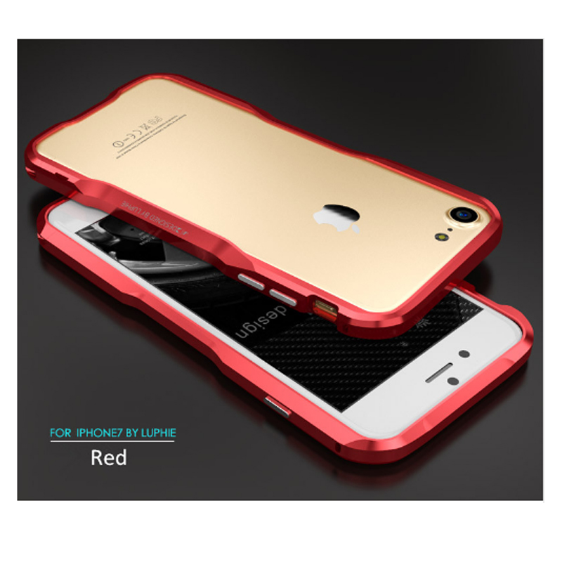 Für iPhone 7 6s Luphie schlanke Metall Telefon Stoßstange Hülle - Handy-Zubehör und Ersatzteile - Foto 3