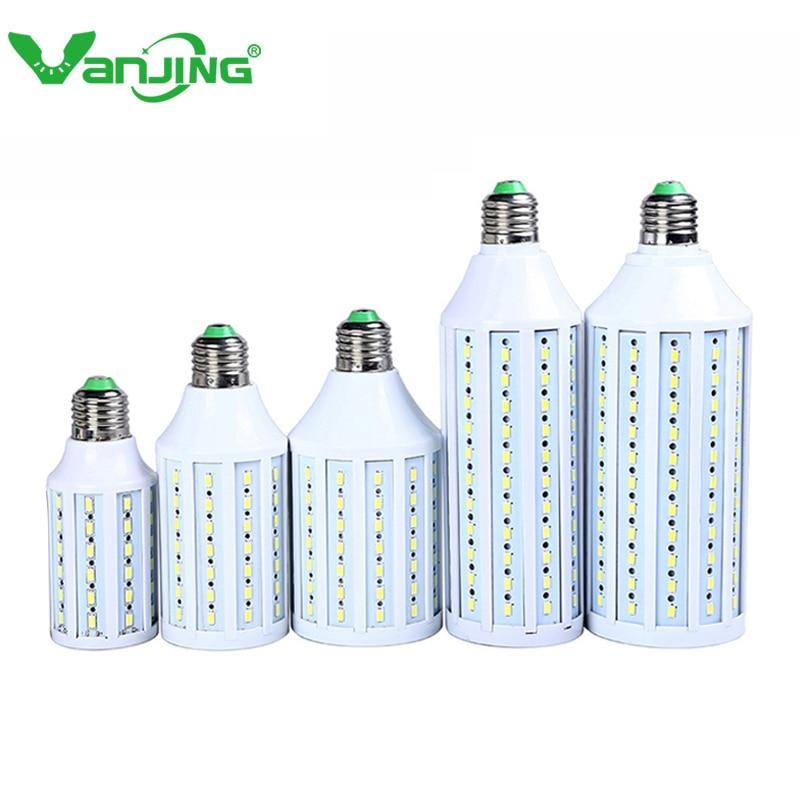 Cheap E27 E14 LED Lamp 5630 SMD 10W 15W 25W 30W 220V 110V Warm White Cool White Energy Efficient LED Light Bulb 7w led lamp smd 5630 36led e27 warm