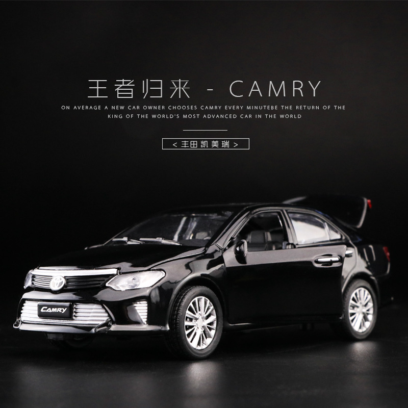 1 32 Alloy Car New Camry Diecast Car Model Toys for kids Collection Children Gifts Car Toys in Diecasts Toy Vehicles from Toys Hobbies