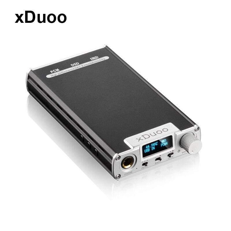 XDuoo chaude XD-05 Portable Audio DAC Casque Amplificateur AMP prise en Charge Native DSD Décodage 32bit/384 khz Avec HD OLED affichage