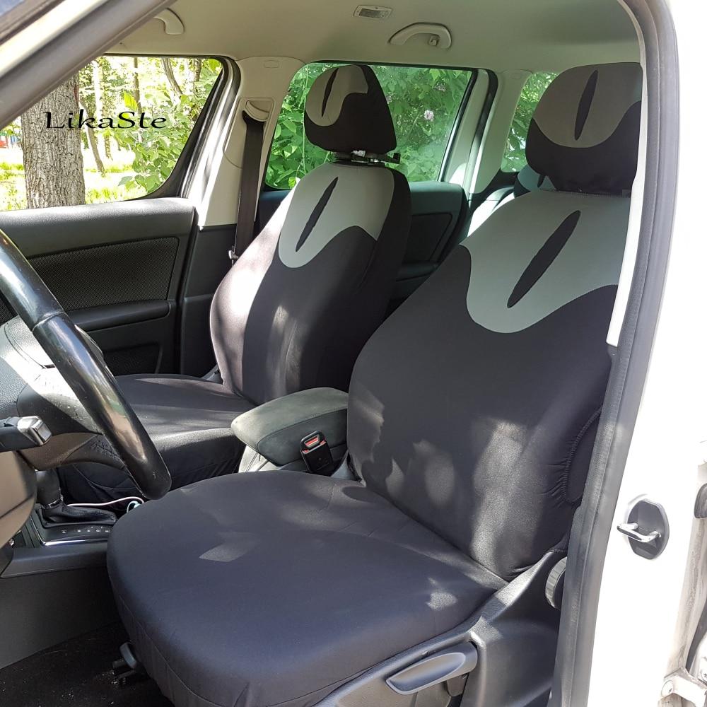 goede koop auto stoelhoezen auto protector universal promotie auto accessoires interieur airbag compatibel grijs kleur voor lada largus goedkoop