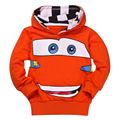 Cheaper Fashion Boys Girls Cartoon Printed Spring Autumn Sport Hoodies T Shirt Outerwear cute Kids sweatshirt baby girl clothes