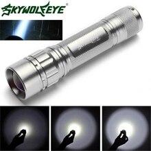 Super Focus 3000 Lumens 3 Modes CREE XML XPE LED 18650 Flashlight Torch Powerful