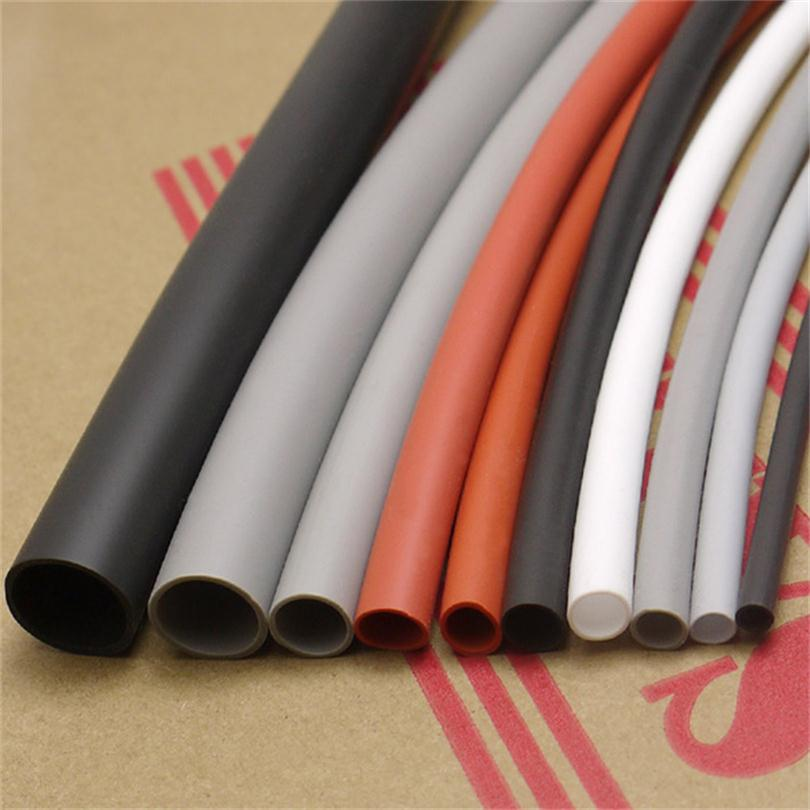 4mm Flexible Soft 1.7:1 Silicone Heat Shrink Tubing Silicone rubber - 2/5/10 Meters image