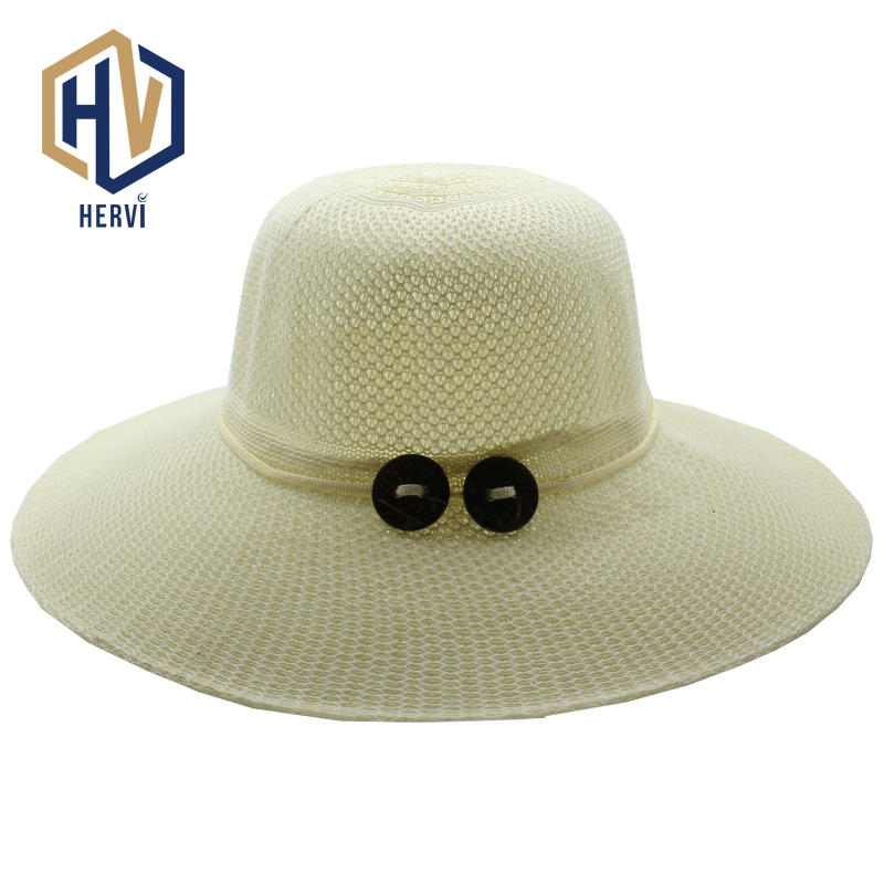 2018 Tops Especially Female Fun Women's Simple Cap Solid Summer Lady Topi Fashion Casual Straw Hat Dropshipping Gorras HNS7-A(China)