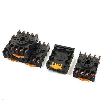 PF083A 8 Pins Screw Terminals Power Relay Socket Base for JTX-2C DH48S