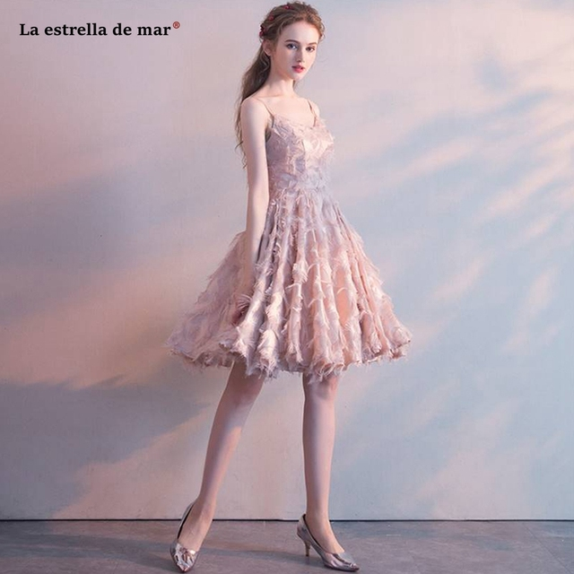 wedding guest gown2019 new lace tassel sexy V neck Spaghetti Straps a Line  blush burgundy bridesmaid f941adad77bc