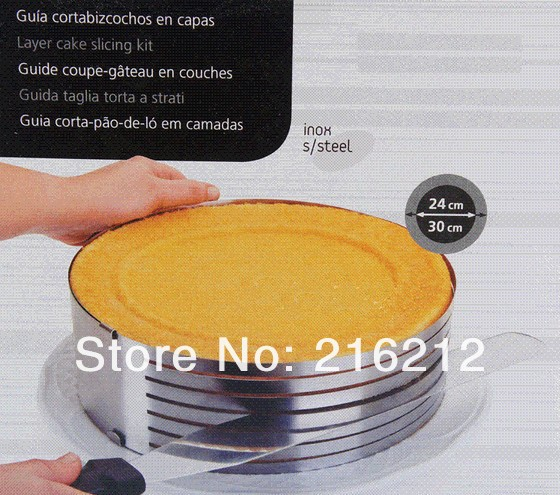 Hot sell Cake layered device cake moulds cake decorating tools Necessary accord with standard of SGS