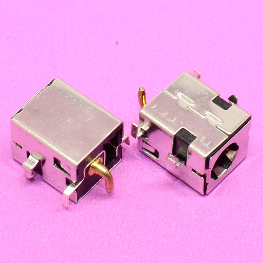 YuXi Brand new 2.5mm DC Power Jack Golden pin for Asus K52JR A52 A53 K52 k53 U52 X52 X53 X54 PJ033 A43 X43 A53 A53S U30 LAPTOP кольцо коюз топаз кольцо т102017974 лл