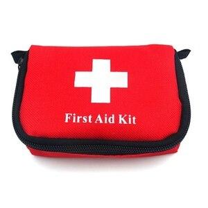 Image 5 - 11 פריטים/28pcs נייד נסיעות חיצונית קמפינג חירום רפואי תיק תחבושת להקת סיוע הישרדות ערכות הגנה עצמית