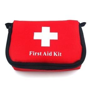Image 5 - 11 itens/28 pçs kit de primeiros socorros de viagem portátil acampamento ao ar livre emergência médica saco bandage band aid kits de sobrevivência auto defesa