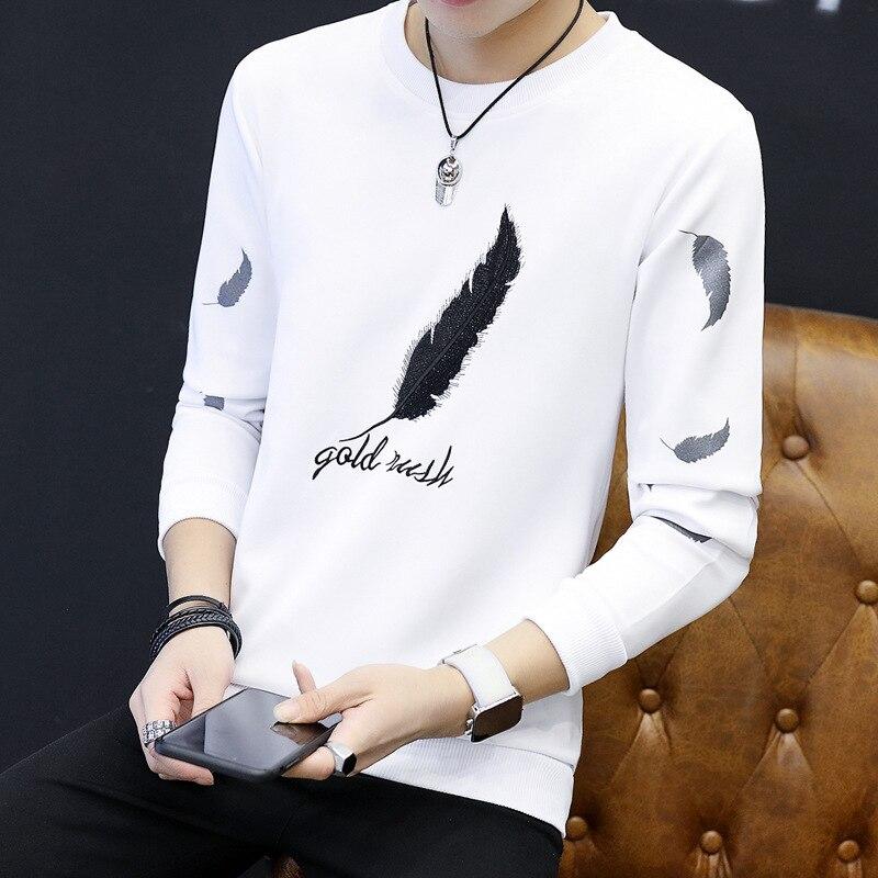 2018 New Style Mens Fashion Sweatshirt High Quality Long Sleeve Sweatshirts Casual Mens Sportswear Men Hoddies Mens Clothing