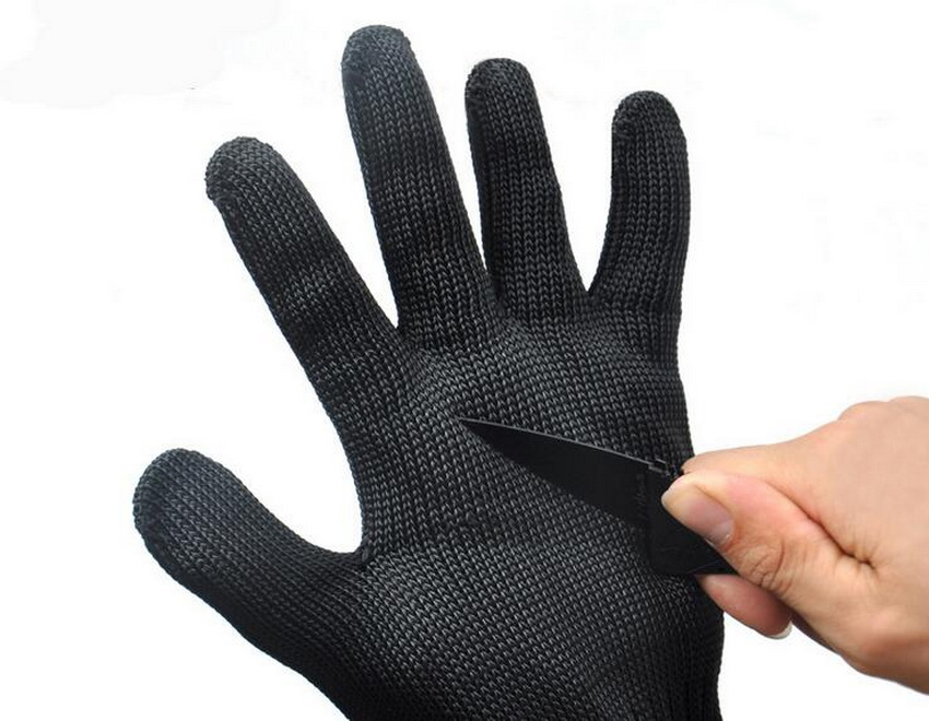 Hunting Camping Self-defense Protective Wire Gloves Gloves Level 5 Cut Resistant Tactical Gloves Outdoor Climbing