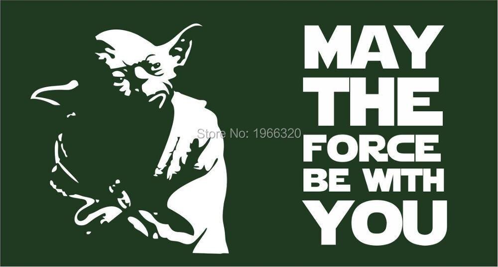 Star Wars Vlag Yoda Kan De Kracht Worden Met Je Vlag 3ft X
