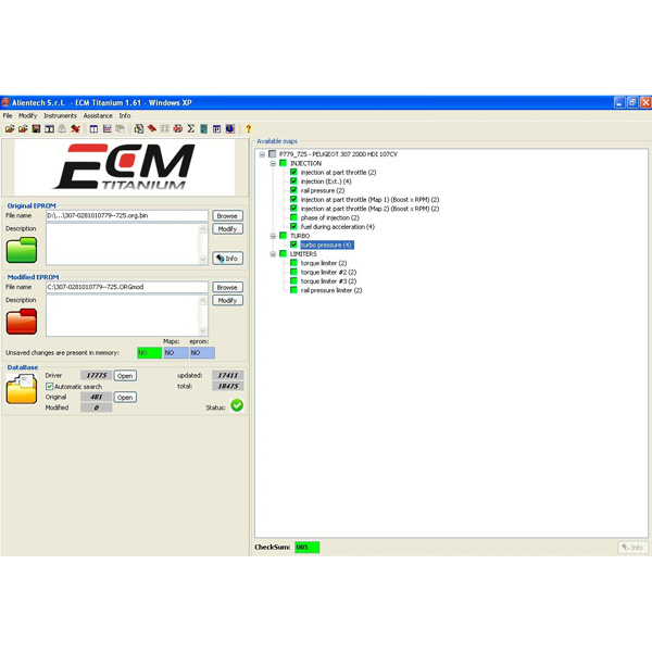 For KTAG And KESS V2 ECM TITANIUM 1.61 With 18259+ Driver ECM 26000+ Software + WinOLS Version 2.24 Software