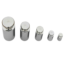 5pcs/set Precision Calibration Set Jewelry Scale Weights Tool Chrome Plating 1g 2g 5g 10g 20g Grams