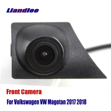 Liandlee AUTO CAM Car Front View Camera Grill Embedded For Volkswagen VW Magotan 2017 2018 ( Not Reverse Rear Parking )