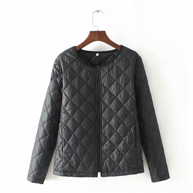 Thin O Neck   Parka   Women Black Plus Size 4XL Jacket women windbreaker Short Coat Women 2019 Winter Glossy Down   Parka   For Women