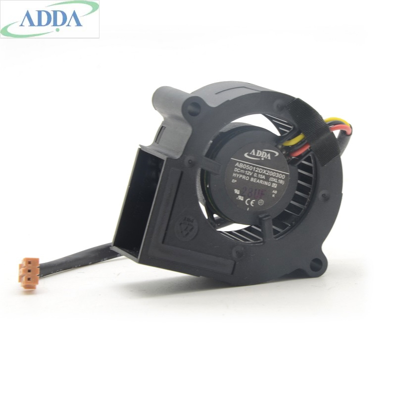 New Original ADDA AB05012DX200300 12V 0.15A projector Blower cooling fan free shipping new original sanyo 9bam24p2g17 dc24v 0 9a 97 33mm 9cm large wind blower cooling fan