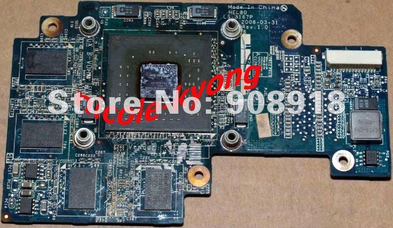 HEL80 LS-3167P go7600 DDR2 256M MXM VGA Video Card for Lenovo 3000 N100 N200