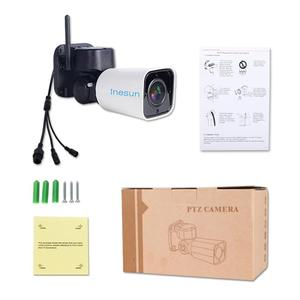 Image 5 - Inesun açık WiFi IP güvenlik kamera 1080P IP kamera WiFi 4X Zoom PTZ kamera 120ft IR gece görüş iki yönlü ses 128G SD kart