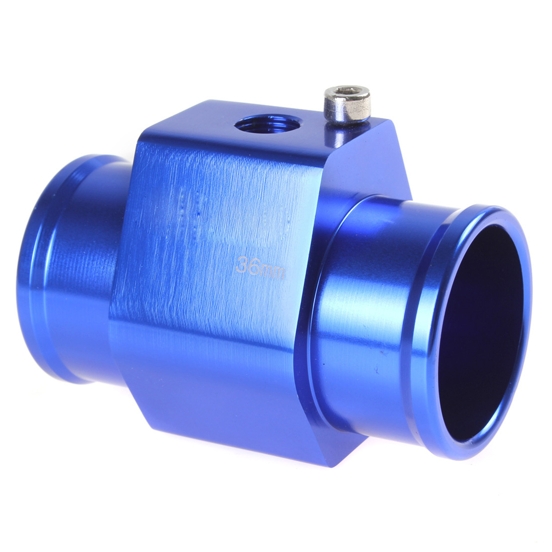 Automobile motorcycle replacement parts Water Temperature Temp Sensor Guage Adapter 36mm Aluminium with Clamps wholesale