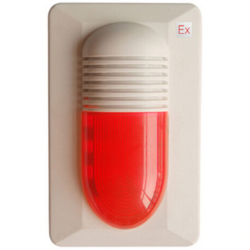 Conventional Sounder Beacon HX-100A(ex)  GST  Sound Strobe    Explosion-proof Mark: ExibIICT6