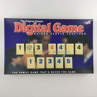 Free shipping Original classic Digital game Math toys Family game 2or4 palyers Board game Rummy game toys
