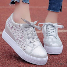 2018 spring womens shoes new thick bottom casual stepper Superstar Sneakers with increased single