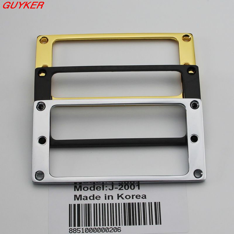 1 PCS Pickup Mounting Rings For Humbucker Pickups Cover Frame Flat Top Set Replacement Electric Guitar Or Bass
