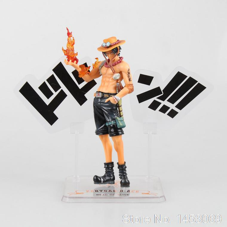 Anime One Piece Portgas D Ace 5th Anniversary PVC Action Figure Collectible Model Toy 15cm KT1642