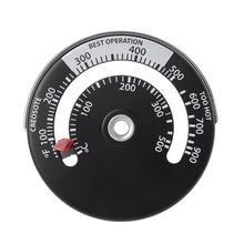 Магнитная плита дымовой трубный термометр мульти топлива дровяная плита дровяная печь труба