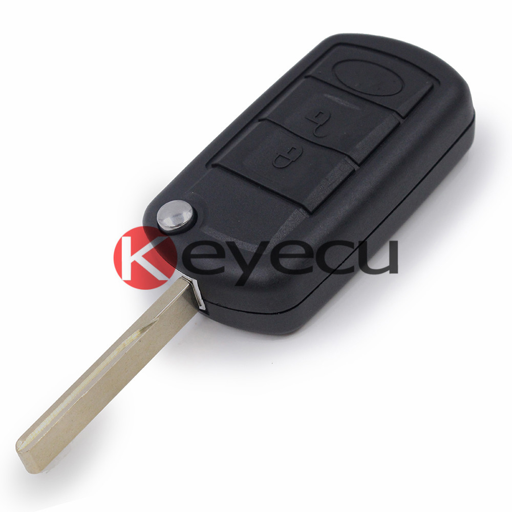 10 lot remote key case fob 3 button folding shell for land rover lr3