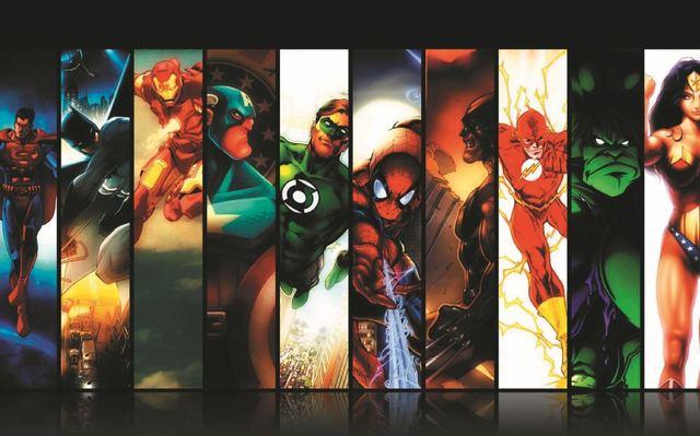 Christmas Gift The Flash Home Decoration Iron Man Marvel Wallpaper