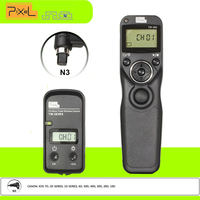 New Pixel TW 283 N3 Timer Wireless Remote Shutter Release Control For Canon EOS7Dseries 5Dseries 1Dseries