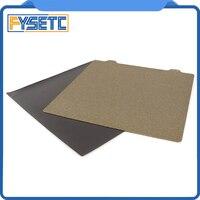 235x235mm Doppelseitige Strukturierte PEI Frühling Stahl Blatt Beschichtet PEI + Magnetische B Platte Für ENDER-3/ender-3s Tevo-