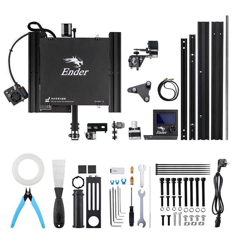 Image 5 - Ender 3 3D printer DIY Kit Large print Size I3 mini Ender 3/Ender 3X printer 3D Creality 3D printer Continuation Print Power-in 3D Printers from Computer & Office